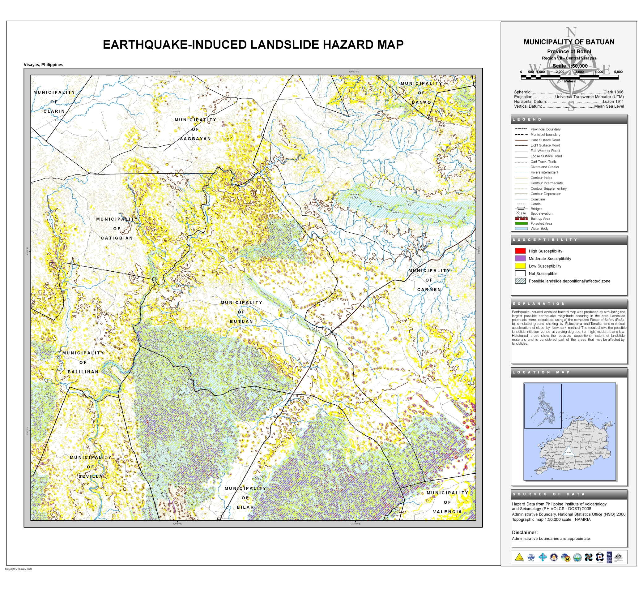 Batuan Earthquake-Induced Landslide