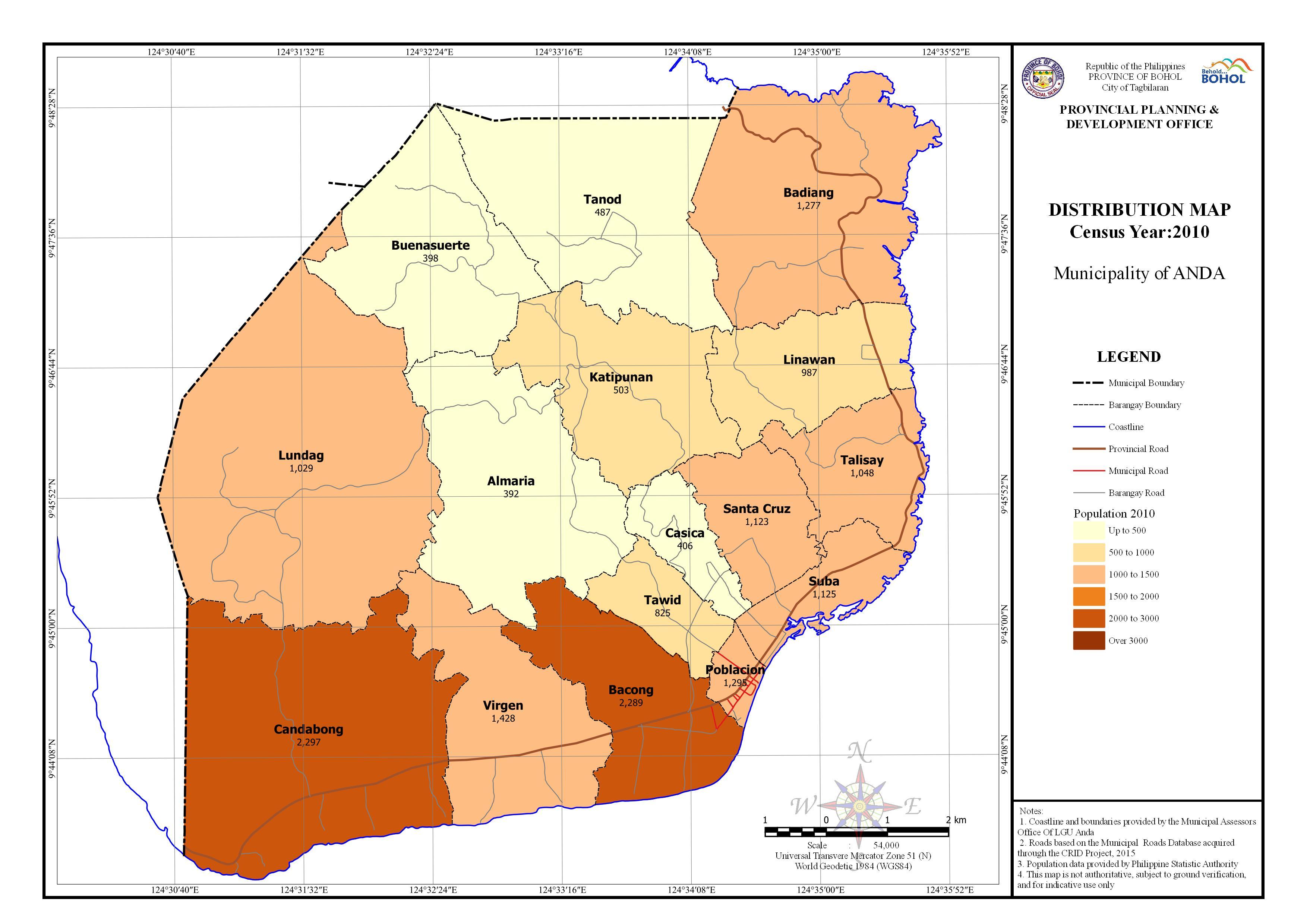 Statistical - Population 2010
