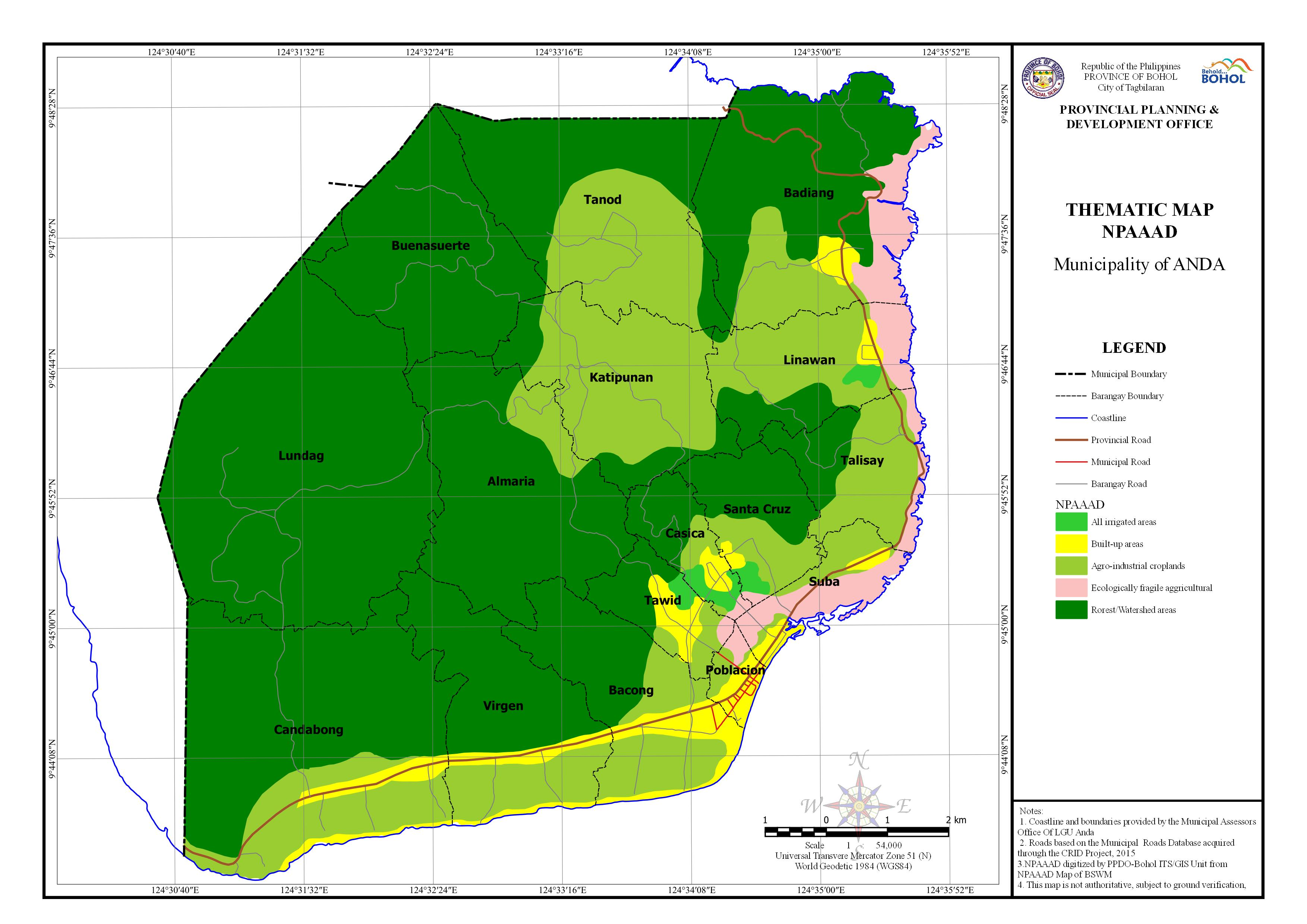 Network of Protected Areas for Agriculture and Agro-Industrial Development (NPAAAD)