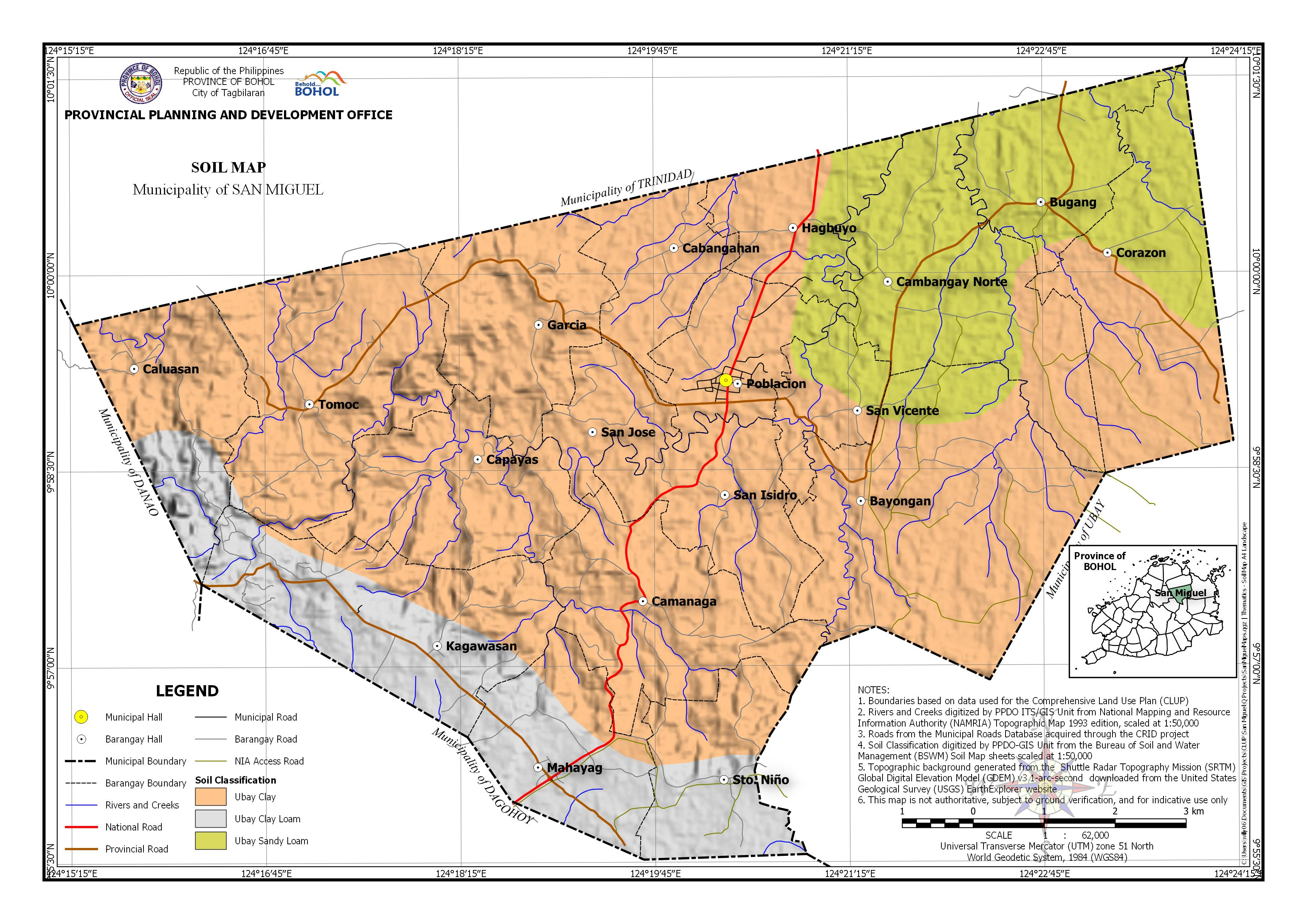 Soil Classification Map