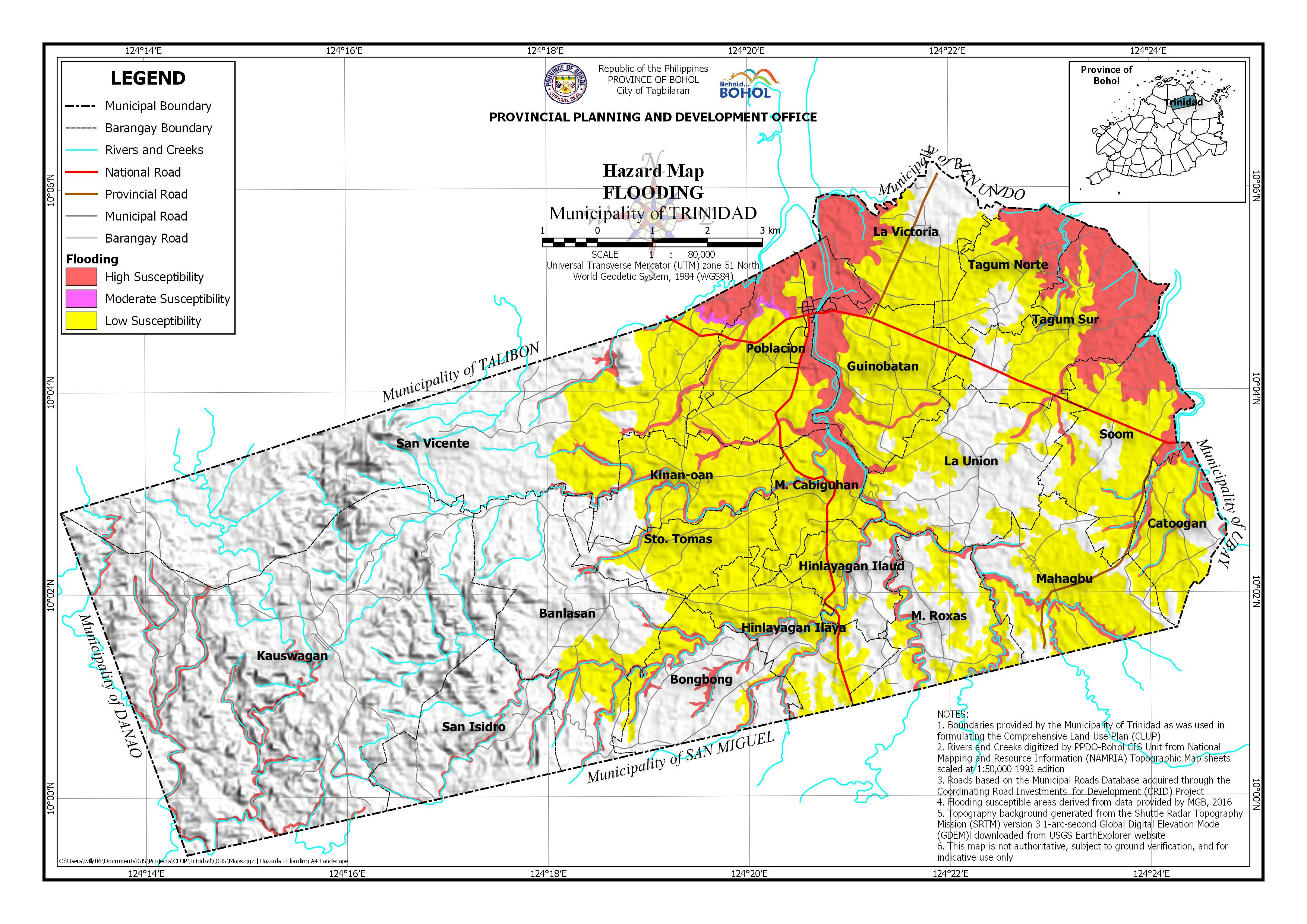 Flooding Map
