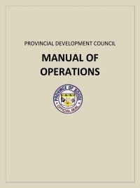 PDC Manual of Operations