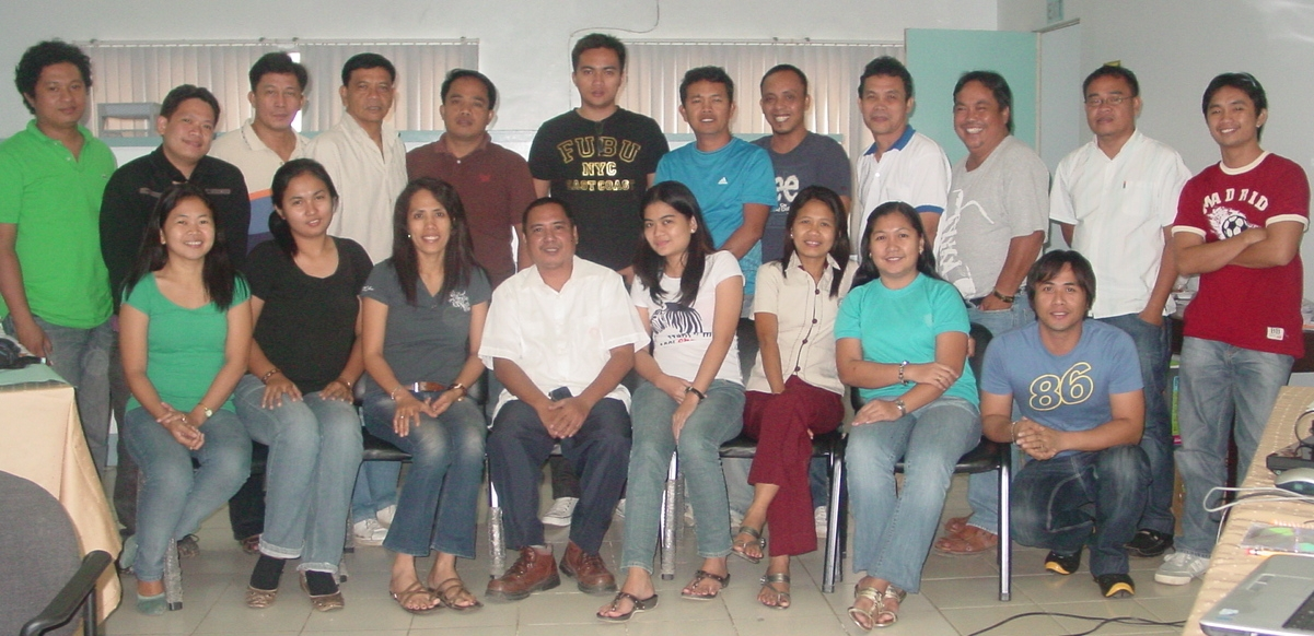 PPDO Basic GIS Training - 20110215-18 Participants
