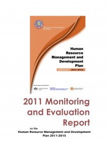 2011 M&E Report on HRMDP 2011-2015