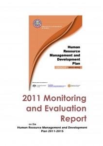 2011 M&E Report on HRMDP 2011-2015