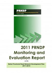 2011 M&E Report on PRNDP 2011-2015